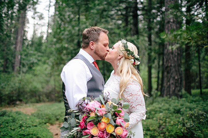 sentimental boho mountain wedding | The Nichols | Glamour & Grace
