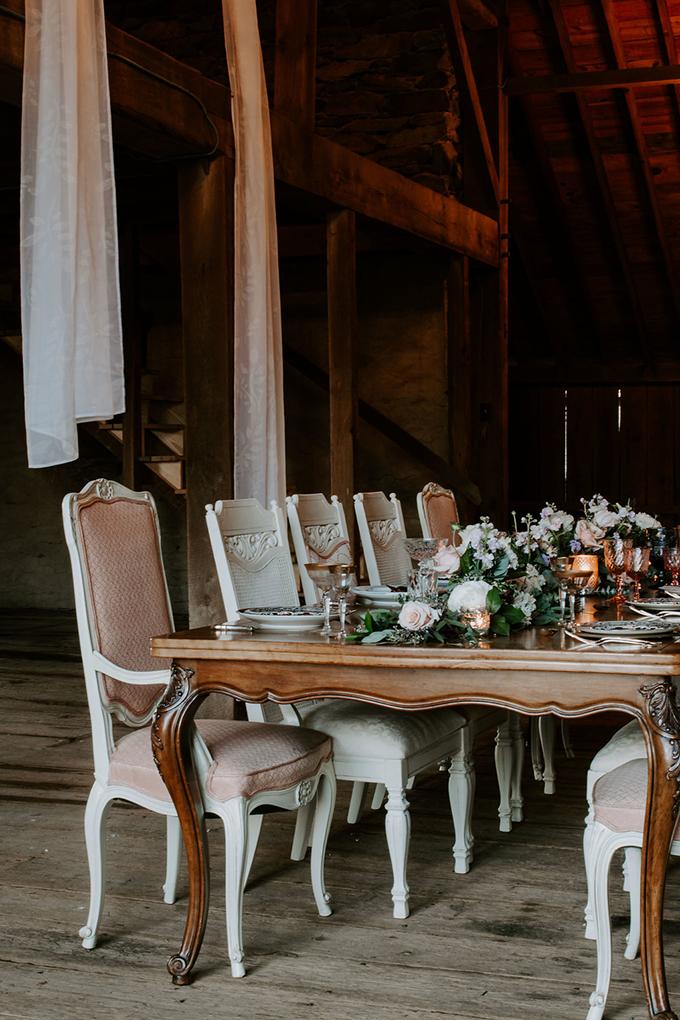vintage farm wedding inspiration | Elizabeth M Photography | Glamour & Grace