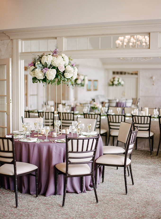 sweet purple Wisconsin wedding | The Ganeys | Glamour & Grace