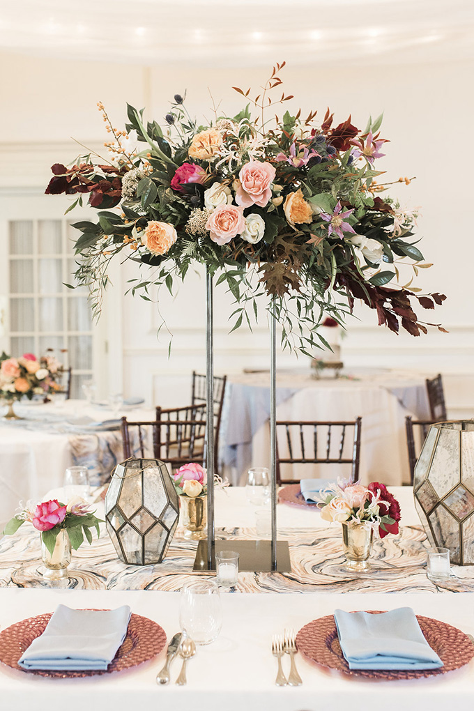 elegant fall wedding ideas | Courtney Dueppengiesser | Glamour & Grace