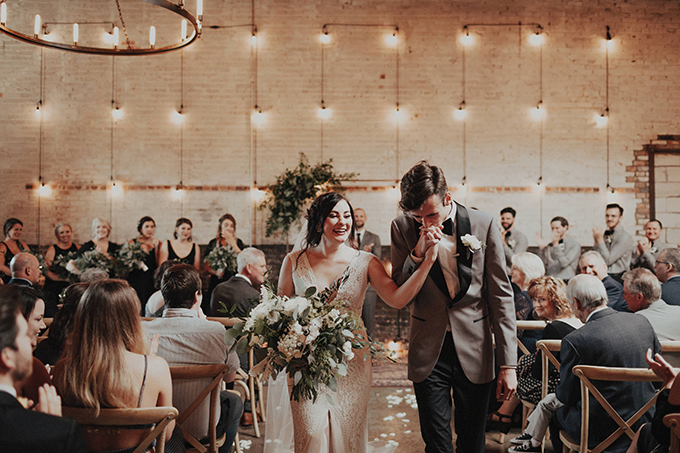 hip industrial wedding | Lauren Apel | Glamour & Grace