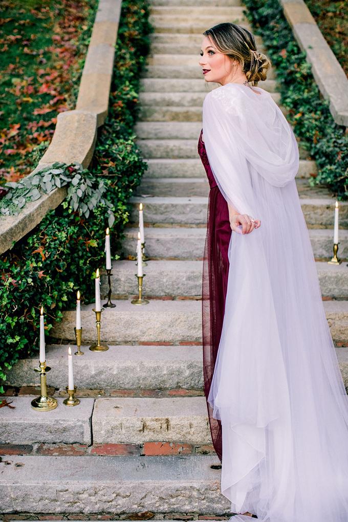 romantic estate wedding inspiration | Kara Powers Photography | Glamour & Grace