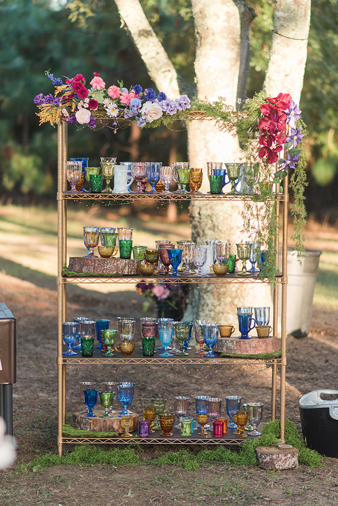 whimiscal woodland wedding | Audrey Grace Photo | Glamour & Grace