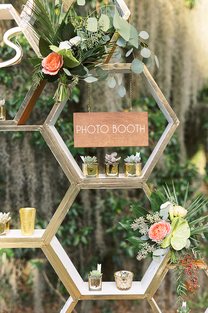 glam tropical retro wedding | Catherine Ann Photography | Glamour & Grace