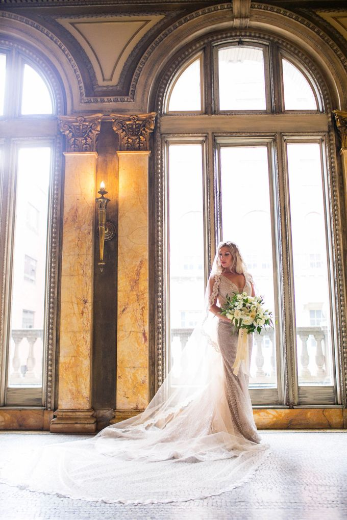 vintage glam wedding | M.STUDIOS | Glamour & Grace