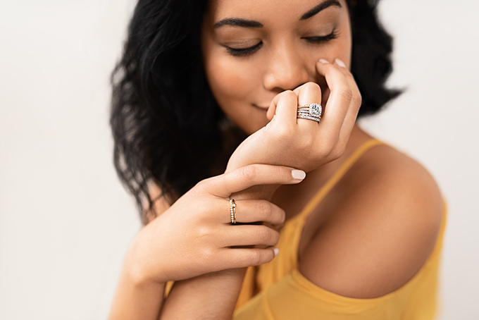 vintage style engagement ringsfrom MiaDonna | Glamour & Grace