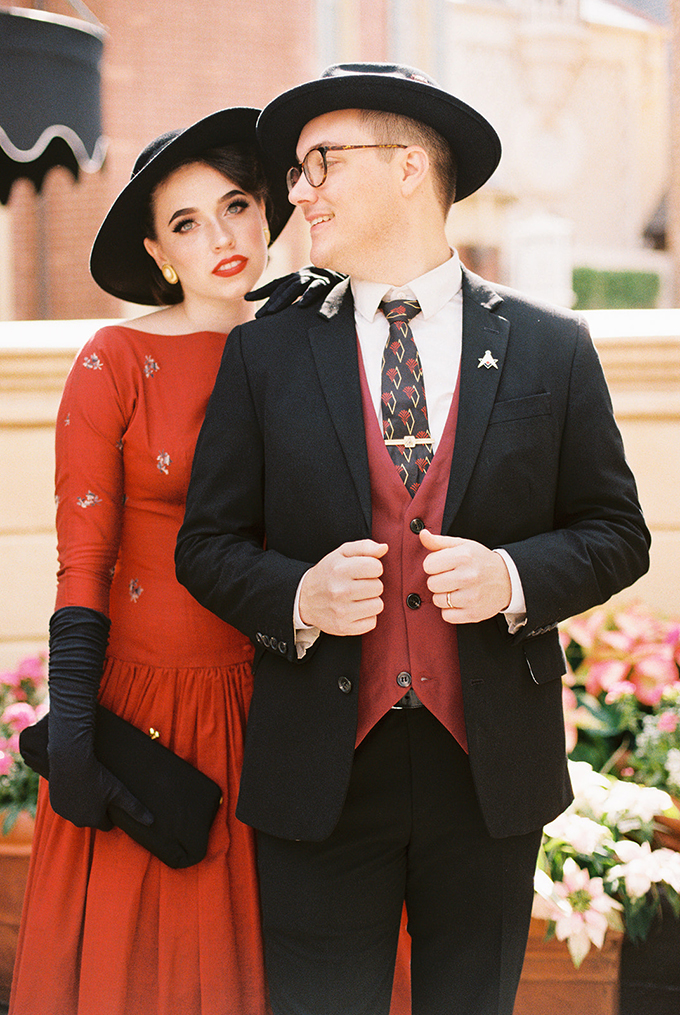 vintage Dapper Day portraits | Paige Mercer Photography | Glamour & Grace