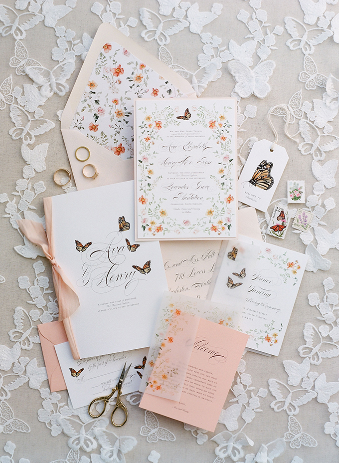 whimsical spring Charleston wedding ideas | The Happy Bloom | Glamour & Grace