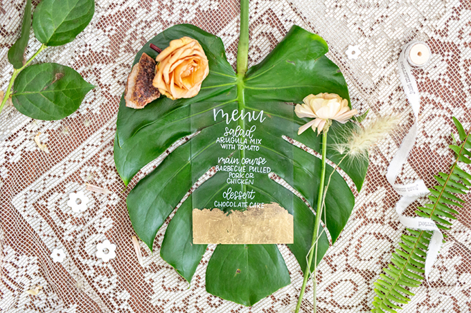 tropical boho wedding ideas | Hannah Cessna Photography | Glamour & Grace