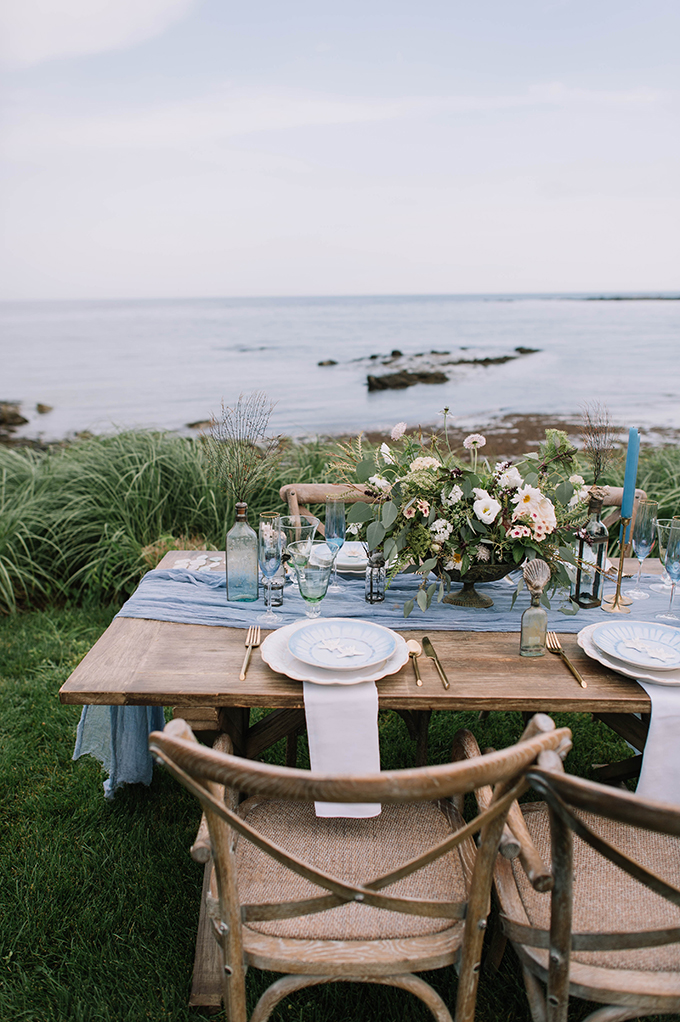 romantic seaside wedding ideas | Carolina Marles Photography | Glamour & Grace