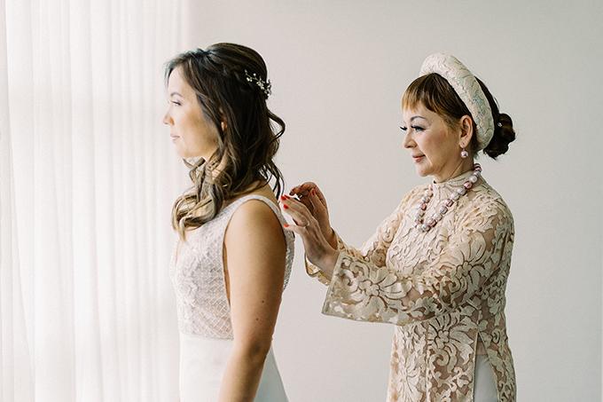 romantic blush redwoods wedding   Winnie Dora Photography   Glamour & Grace