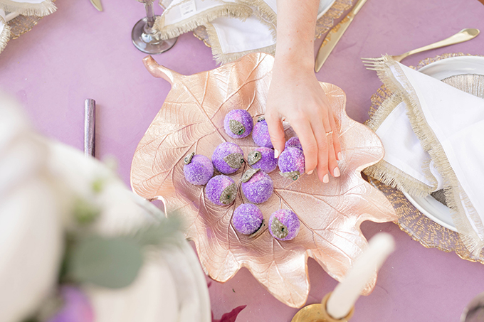 purple winter wedding ideas | Amanda MacPhee Studios | Glamour & Grace