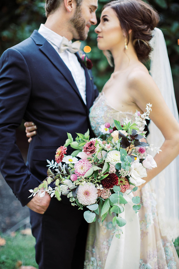 romantic Art Nouveau inspired wedding ideas | Olivia Hatfield Photography | Glamour & Grace