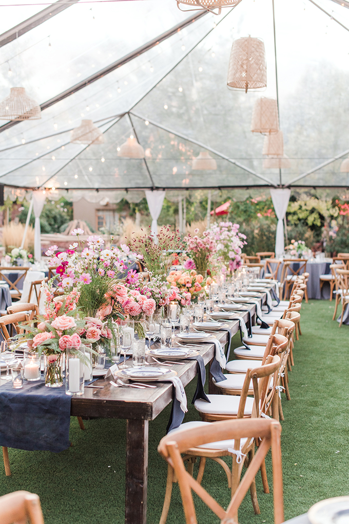 whimsical pink tented wedding | Maura Jane Photography | Glamour & Grace