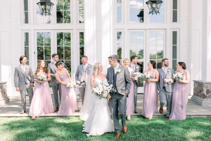 blush and lavender wedding | Cassi Claire Photography | Glamour & Grace