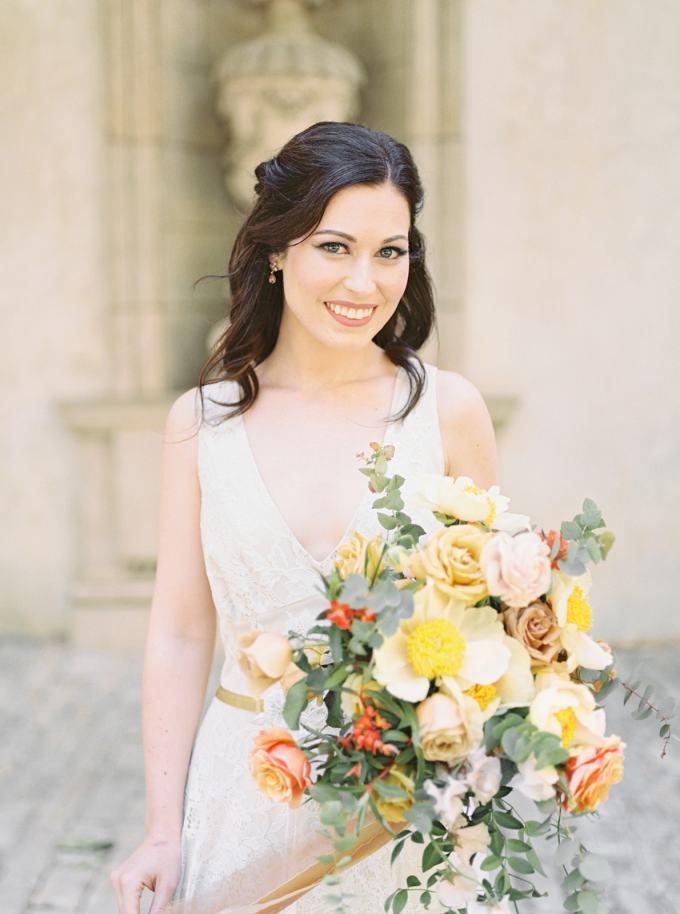elegant orange wedding ideas | Laura Anne Watson | Glamour & Grace