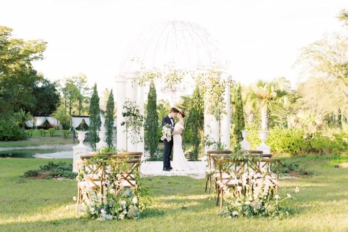 elegant spring garden wedding ideas | Moose Studio | Glamour & Grace
