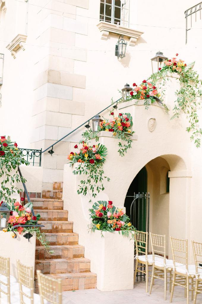 romantic tropical wedding | Jacqui Cole | Glamour & Grace