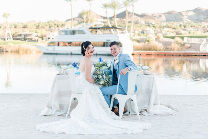 summer coastal wedding ideas | Kristen Marie Weddings | Glamour & Grace