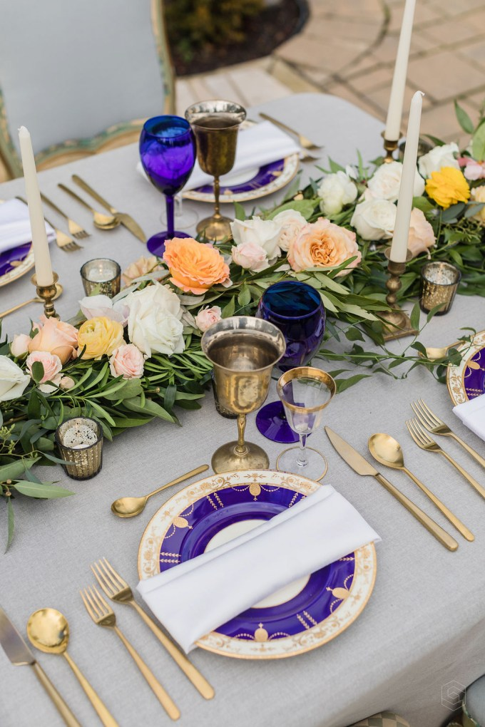 colorful vow renewal-Simple Joie Photography-Glamour & Grace