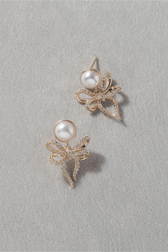 Blunham Bow Earrings