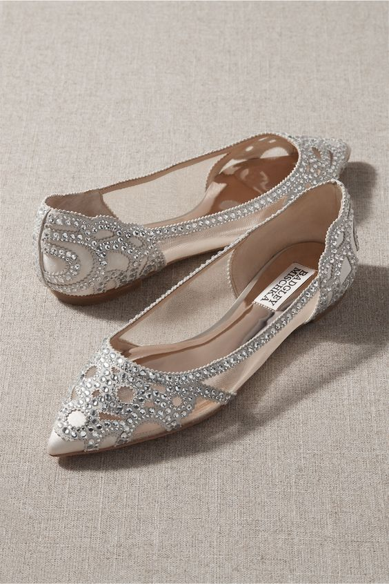 Badgley Mischka Gigi Pointed Toe Flat