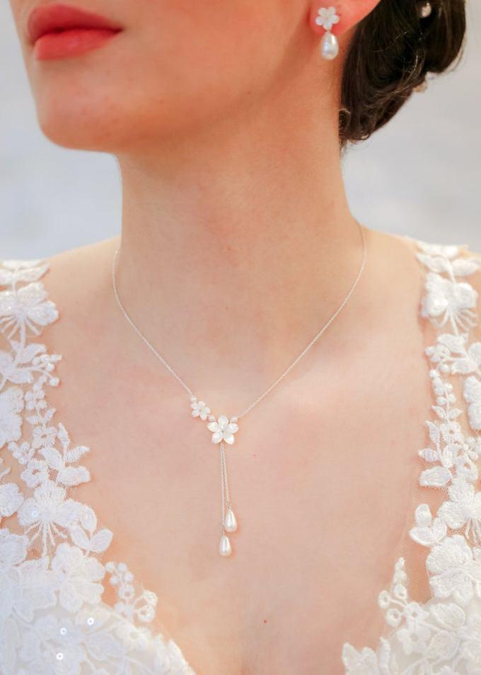 Flower Bridal Necklace