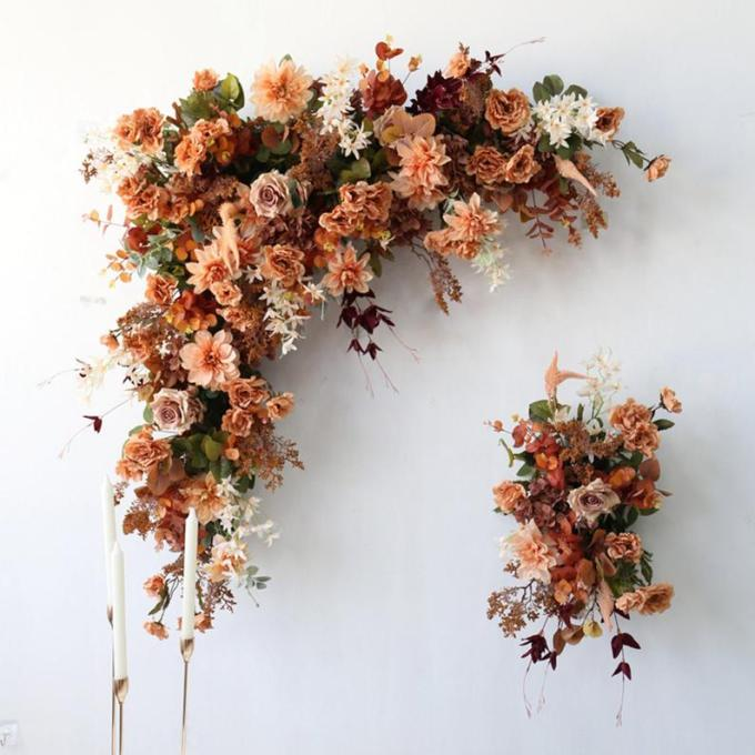 Ceremony Arch Silk Flowers