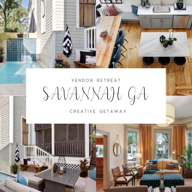 Savannah Styled Shoot Retreat