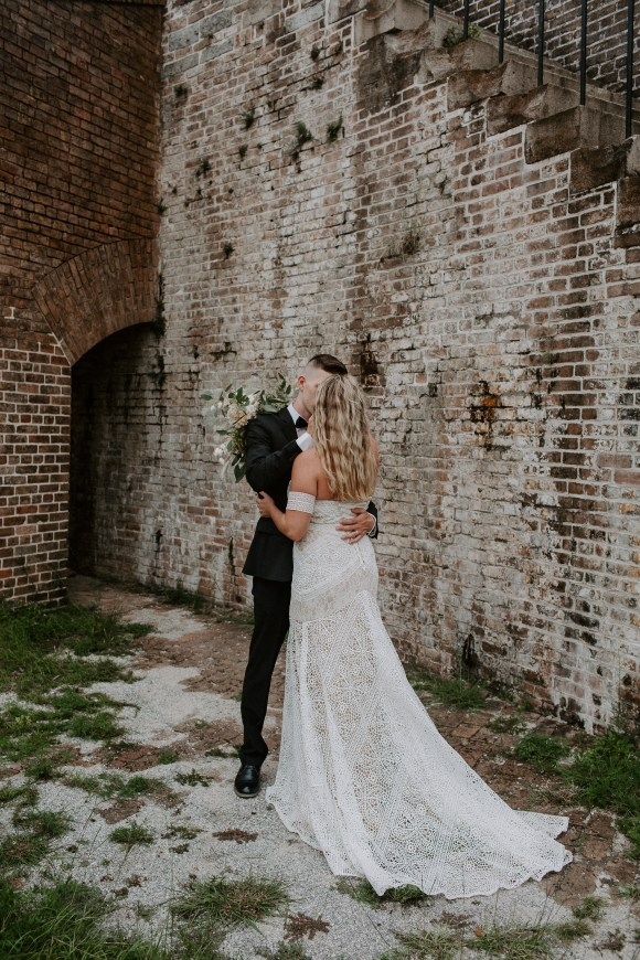 Pensacola Fort Pickens styled Wedding shoo Styled Shoot