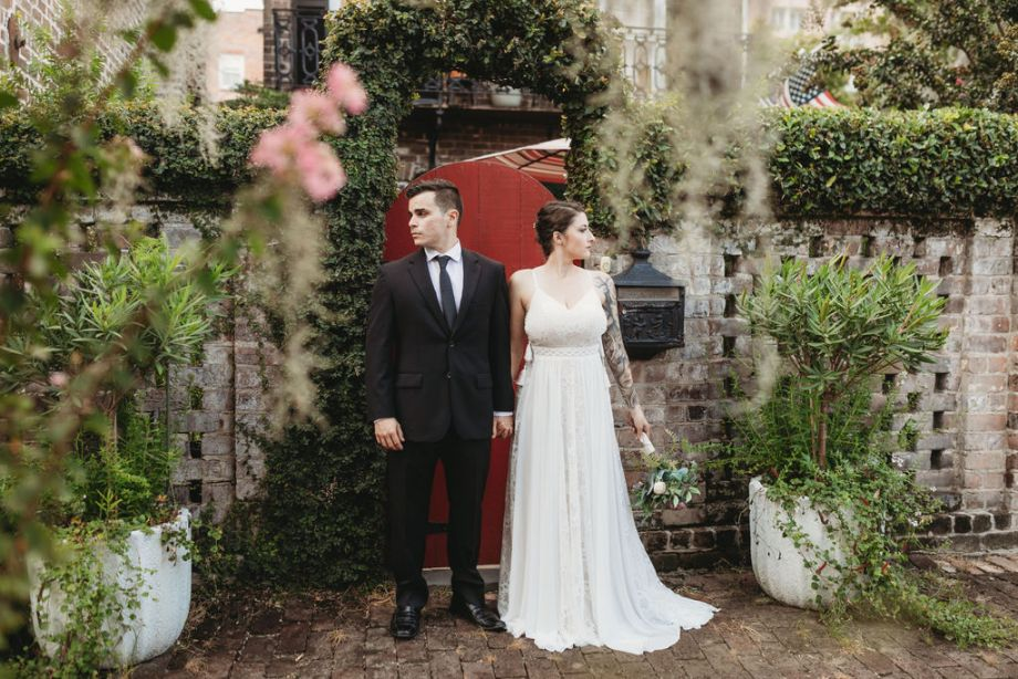 Historic Savannah styled shoot dress rental
