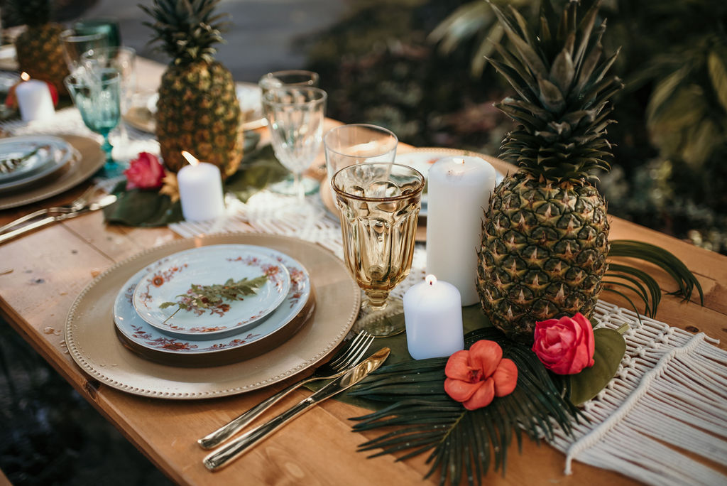 Styled Tropical Wedding Shoot Florida