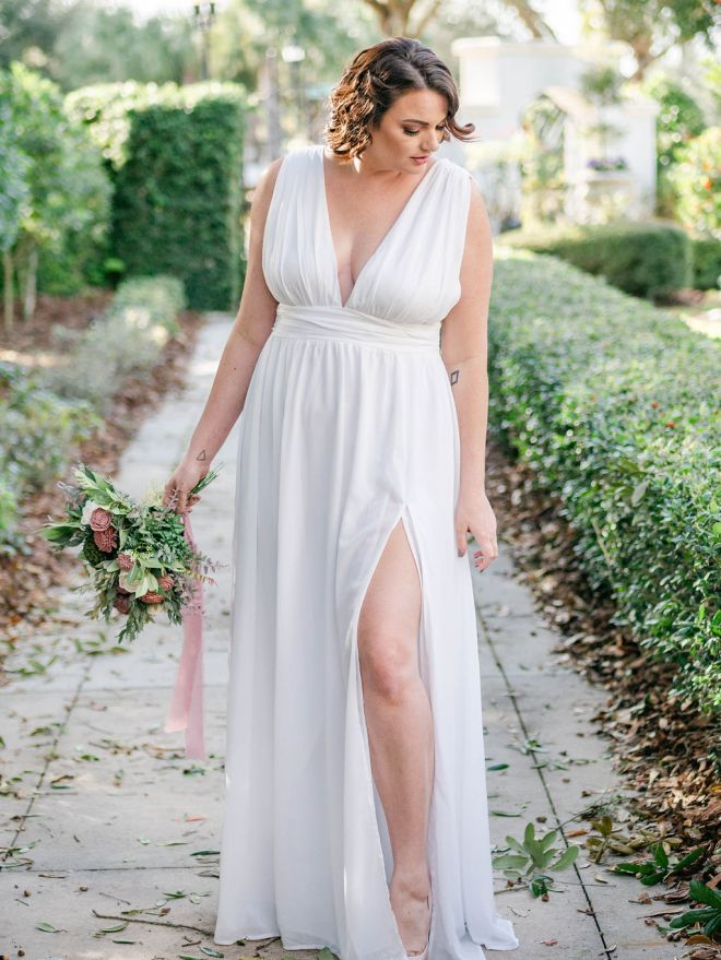 Plus Size Styled Shoot Gown Rental