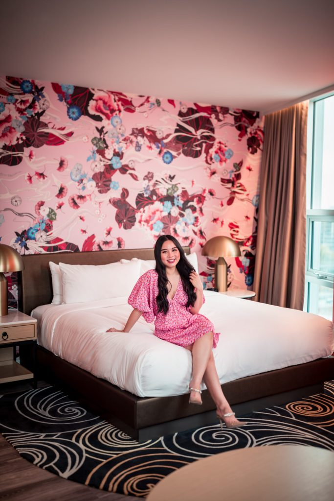 Versante hotel, wallpaper, richmond, hotel, vancouver, airport, staycation