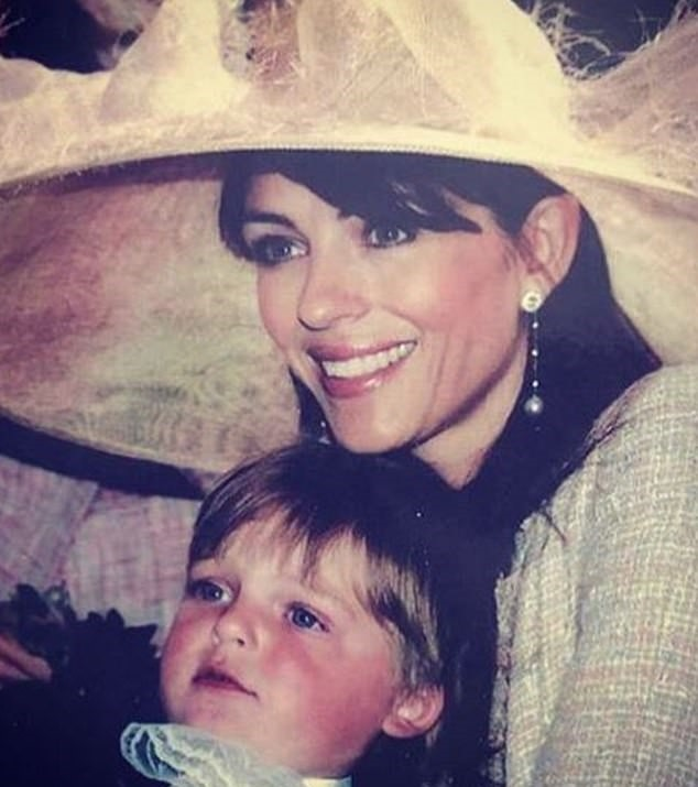 Fans Shocked By Resemblance After Elizabeth Hurley Wishes Identical Son A Happy Birthday
