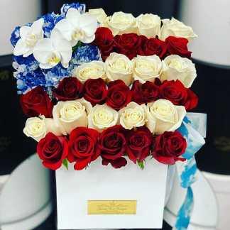 American Flag Arrangement