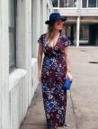 Fall Floral Maxi Dresses