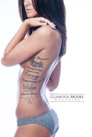 Vicki Francia ©Jay Kilgore for Glamour Model Magazine