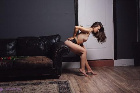 Bree topless