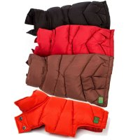 Down Puffer Dog Coat by Canine Styles at GlamourMutt.com