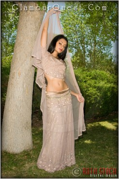 Glamour Quest Girl Cynthia: East Indian Beauty