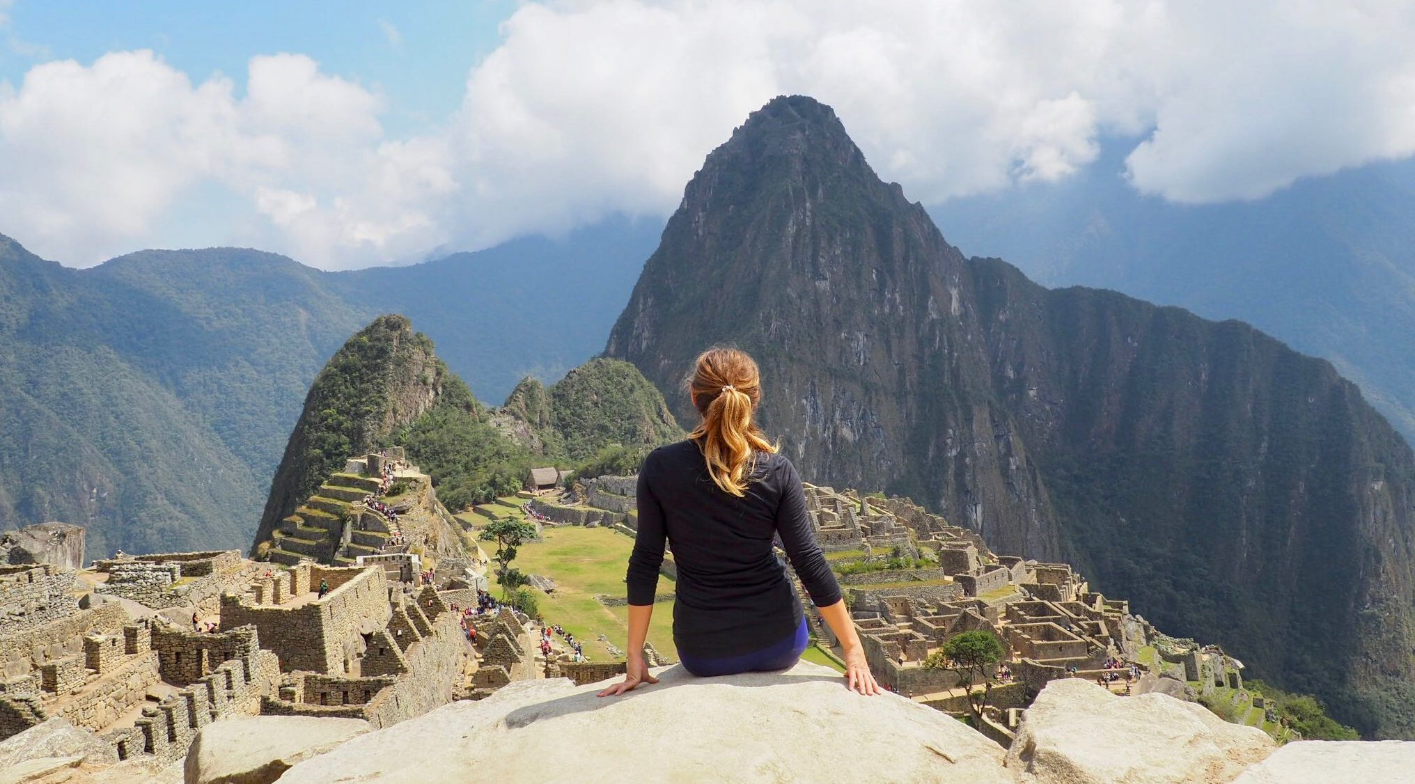Views over Machu Picchu