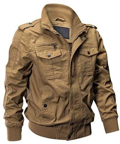 Eklenston Men's Desert Bomber Jacket