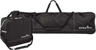 Athletico Two-Piece Snowboard and Boot Bag Combo