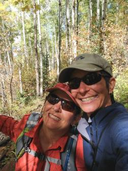 Hiking around Sylvan Lake SP, Eagle CO.