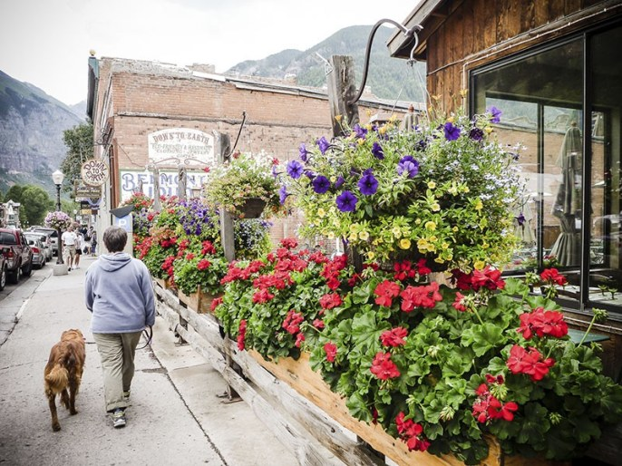 Downtown Telluride, CO.