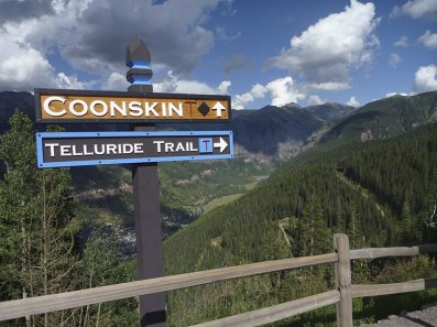 Top of the ski resort, Telluride, CO.