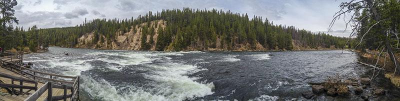 LeHardy Rapids, on the Yellowstone River.
