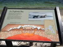 Thermal feature info panel, YNP.