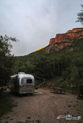 Campsite, Redstone Campground, Carbondale, CO